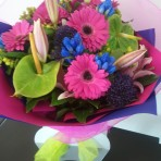 Hot-Pink-celebrations flower bouquet