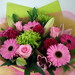 Pink Lush flower bouquet