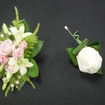 corsage-and-button-hole flower