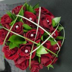 rose-posy flower with box